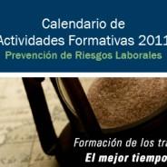 Calendario de formación 2011