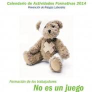 Calendario formación 2014